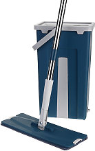 Flat Bucket Mops Fiber Cleaning Free Hand Spin