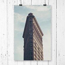 Flatiron Building New York City Photographic Print