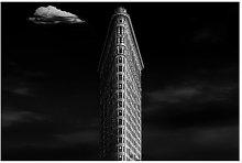 Flatiron Building Semi-Gloss Wallpaper Roll East