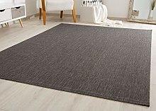 Flatwoven Rug Gotland Sisal Look Colour Brown -