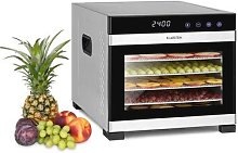Flavor Dry Dehydrator 35-75 ° C LCD Touch Display
