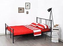 Flaxt Double (4'6) Bed Frame Borough Wharf