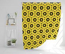 Fleck Polyester Shower Curtain Set Corrigan Studio