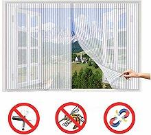 Flei Mesh Bug Screen Door 170x210cm, Heavy mesh