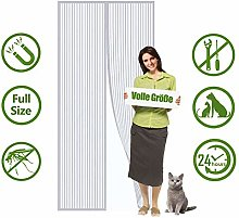 Flei Screen Doors 155x215cm, Heavy Duty Mesh