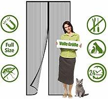 Flei Screen Doors, Heavy Duty Mesh Curtain,