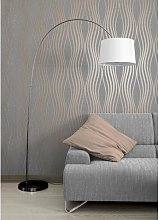 Fleming 10m x 52cm Textured Glitter Wallpaper Roll