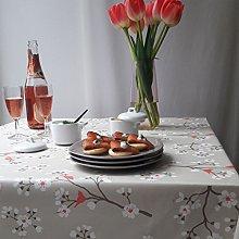 Fleur de soleil Tablecloth Cherry taupe/coral