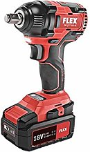 Flex 438308 Cordless Impact Driver, 18 V, Red, One