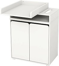 Flexa Changing Table with 2 Doors and 1 Shelf - 1 item