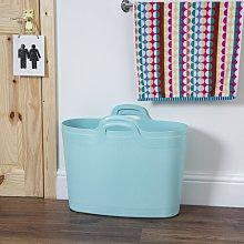 Flexi 40L Laundry Basket Rebrilliant Colour: Duck