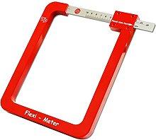 Flexi Meter Glass Gauge Sealed Unit Measuring Tool