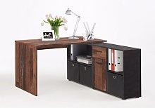 Flexi Modern Corner Computer Desk In Old Style