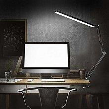 Flexible Swing Arm Desk Lamp Clamp,Led Table Light