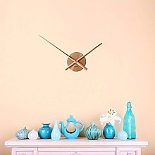 FlexiClock Copper Without Number Metal Wall Clock