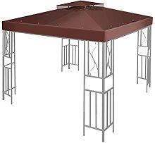 Flexzion 12' x 12' Gazebo Canopy Top