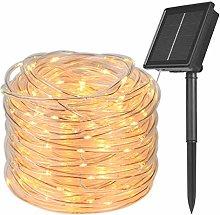 Flintronic Solar String Light, 8 Modes 200 LED