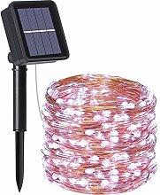 flintronic Solar String Lights Outdoor, Garden