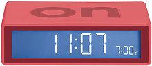 Flip Alarm clock by Lexon Red