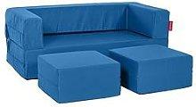 Flip Bean Bag Sofa Freeport Park