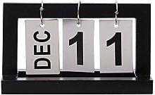Flip Calendar Perpetual Desk Calendar Desktop