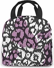 Flip Flops Design On White Lunch Cooler Bag, Small