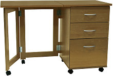 FLIPP - 3 Drawer Folding Office Storage Filing