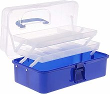 Fliyeong 13Inch Plastic Art Supply Storage Tool