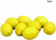 Fliyeong 16Pcs Artificial Fruit Lemon Model