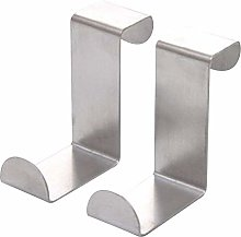 Fliyeong 2PC Door Hook Stainless Kitchen Cabinet