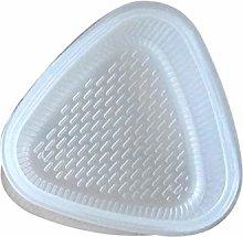 Fliyeong 2PCS Durable Sushi Mold Triangle Form
