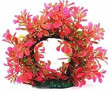 Fliyeong Fake Aquarium Plant Arches Tree Ornament