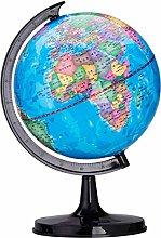 Fliyeong Globe Rotating Globe World Map