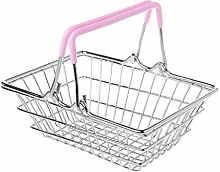 Fliyeong Mini Supermarket Shopping Hand Basket