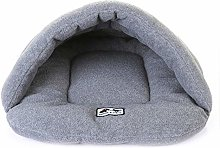 Fliyeong Pet Small Dog Cat Bed Warming Dog Cave