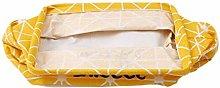Fliyeong Premium Linen Storage Bag Desk Organizer
