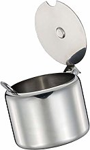 Fliyeong Stainless Steel Sugar Bowl Condiment