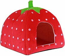 Fliyeong Strawberry Style Cute Soft Cotton Sponge
