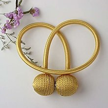 FLLOVE 1Pc Magnetic Curtain Tieback Buckle Strap