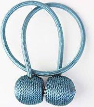 FLLOVE 1Pc Magnetic Curtain Tieback Holder Hook