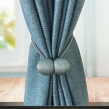FLLOVE Magnetic Ball New Pearl Curtain Simple Tie