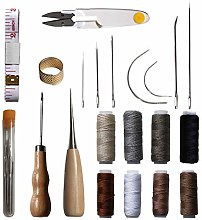 Fllumbo 29PCS Leather Craft Hand Stitching Tools