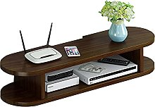 Floating partition TV Set-top Box, Wooden