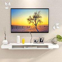 Floating Shelf Modern Wall Mounted TV Console Home