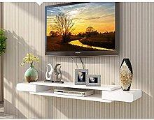 Floating Shelf Wall-Mounted TV Cabinet, Background