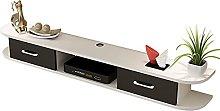 Floating Shelf, Wall-Mounted TV Cabinet, Hanging