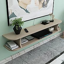 Floating Shelf Wall-Mounted TV Cabinet, Home Media