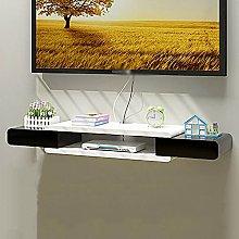 Floating Shelf Wall-Mounted TV Cabinet, Media
