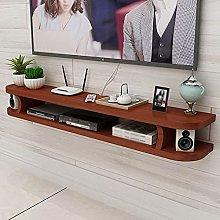 Floating Shelf, Wall-Mounted TV Cabinet, TV Wall