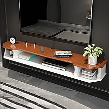 Floating Shelf, Wall-Mounted TV Cabinet,